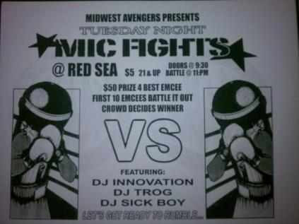 inno mic fights