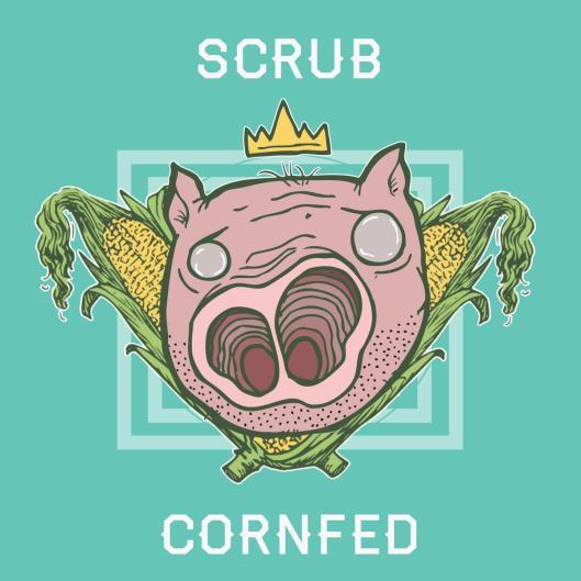 Scrub cornfed