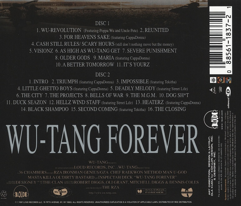 Wu tang forever 2