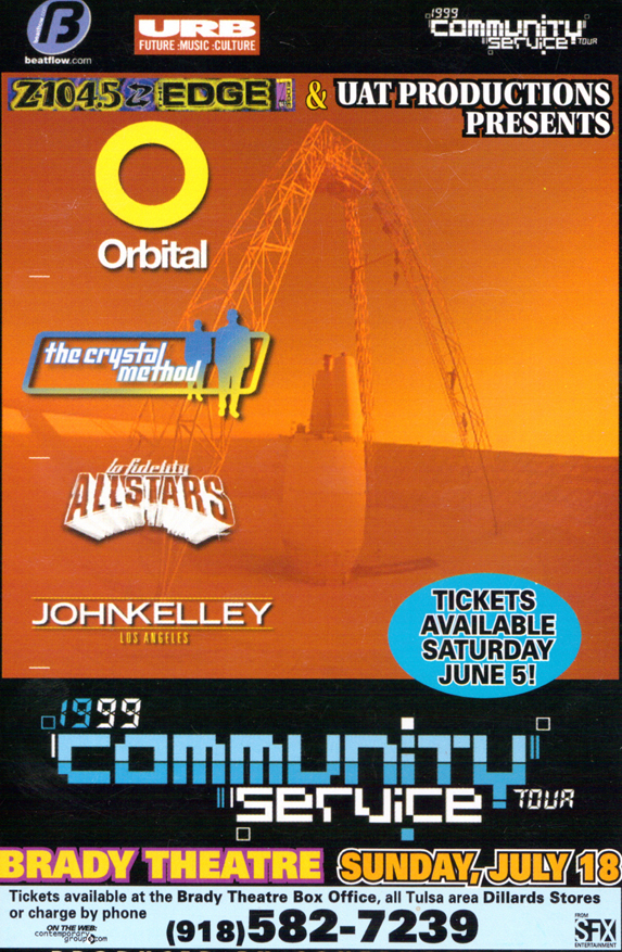 UAT flyers_COMMUNITY SERVICE tour 1999